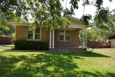 Round Rock Single Family Home Pending - Taking Backups: 1904 Dixie