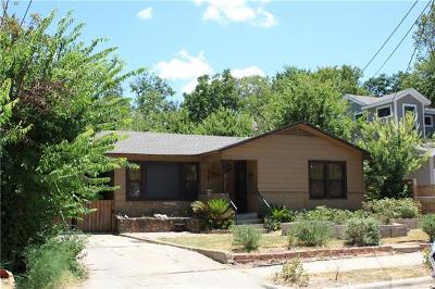 Austin Single Family Home For Sale: 2609 Euclid Ave