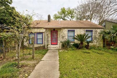 Austin Single Family Home Pending - Taking Backups: 2409 Sharon #A/B