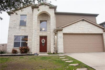 Buda, Kyle Single Family Home For Sale: 113 Tomatillo Cv