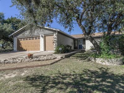 Lago Vista Single Family Home For Sale: 20410 Dawn Dr