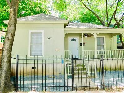 Single Family Home For Sale: 303 Navasota St