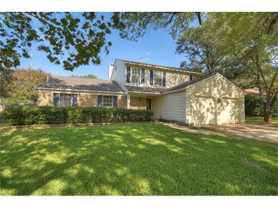 Round Rock Single Family Home For Sale: 1705 Lime Rock Dr