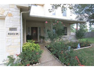 Austin TX Single Family Home For Sale: $444,950