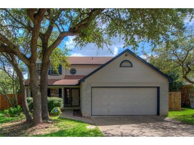 Cedar Park Single Family Home For Sale: 2010 E Gann Hill Dr