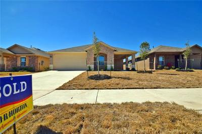 Hutto Rental For Rent: 209 Seaholm Ln