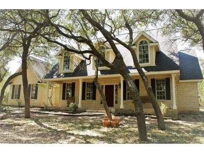 Dripping Springs Single Family Home Pending - Taking Backups: 109 Winchester Dr