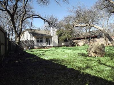 Cedar Park Single Family Home For Sale: 606 Bowling Ct