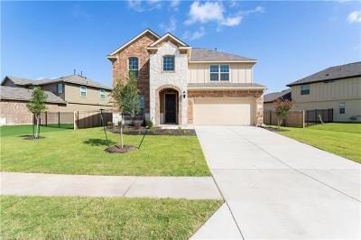 Leander Single Family Home For Sale: 213 Red Matador Ln