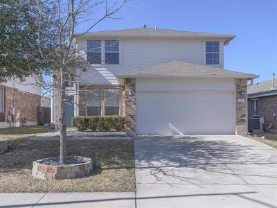 Pflugerville Single Family Home Pending - Taking Backups: 825 Sweet Leaf Ln