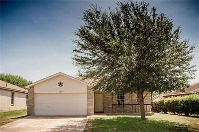 Lockhart Single Family Home For Sale: 407 Thunderstorm
