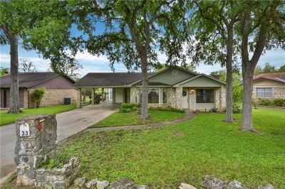 Wimberley Single Family Home For Sale: 33 Palmer Ln