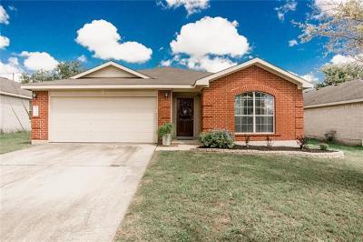 Kyle Single Family Home Pending - Taking Backups: 138 Star Of Texas Dr