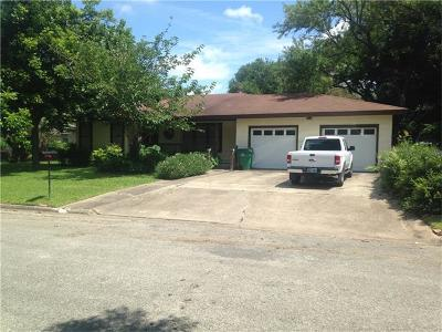 Taylor Single Family Home For Sale: 903 Gilmore St