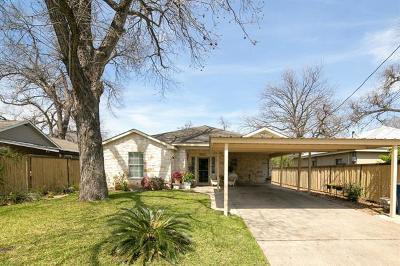 Austin Single Family Home For Sale: 3002 Castro St