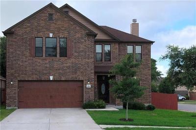 Cedar Park Single Family Home For Sale: 2106 Golden Arrow