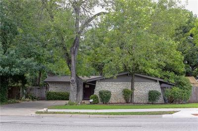 Single Family Home For Sale: 7008 Shoal Creek Blvd