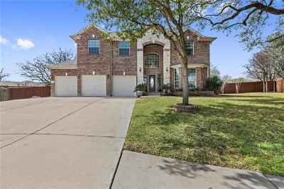 Round Rock Single Family Home Pending - Taking Backups: 3006 Angelico Cv
