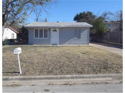 Killeen TX Single Family Home For Sale: $64,950