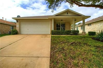 Leander Single Family Home For Sale: 1311 Mojave Bnd
