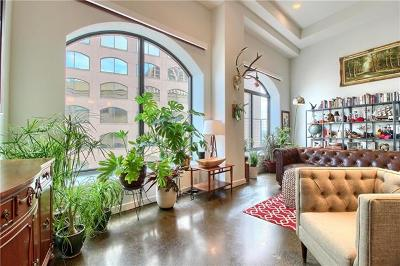 Austin Condo/Townhouse For Sale: 507 Sabine St #909