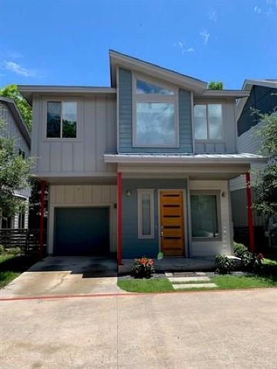 Austin Single Family Home For Sale: 900 Banister Ln #G