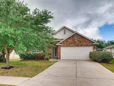 Round Rock Single Family Home For Sale: 3145 Henderson Path