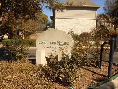 Condo/Townhouse For Sale: 11000 Anderson Mill Rd #110
