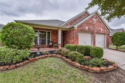 Manor Single Family Home For Sale: 11612 Shadow Creek Dr