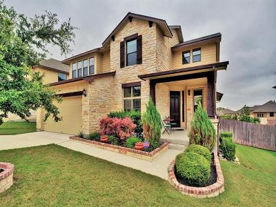 Round Rock Single Family Home Pending - Taking Backups: 109 W Adelanta Pl