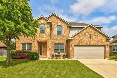Pflugerville Single Family Home For Sale: 2800 Linville Ridge Ln