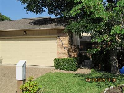 Austin Condo/Townhouse For Sale: 8319 Summer Place Dr
