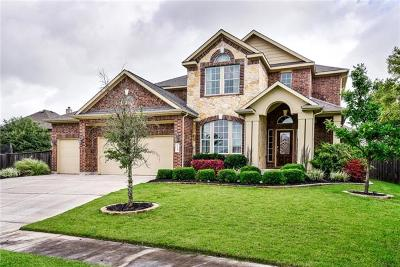 Round Rock Single Family Home For Sale: 4109 Grand Vista Cir