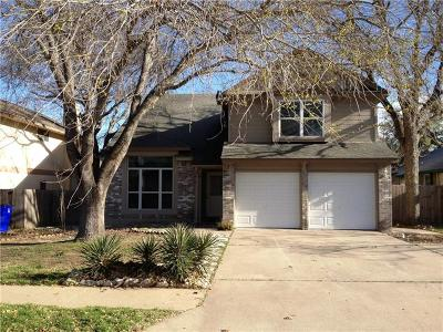 Cedar Park Single Family Home For Sale: 1108 Forest Oaks Path