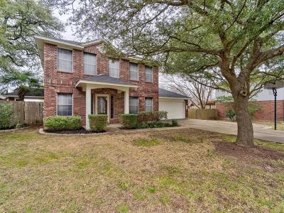 Travis County Single Family Home Pending - Taking Backups: 5516 Meg Brauer Way