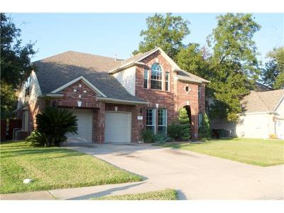 Round Rock Single Family Home For Sale: 1502 Foppiano Loop