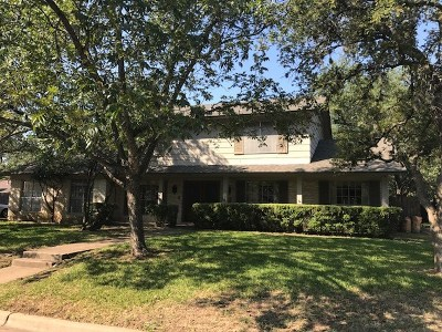 Austin Single Family Home For Sale: 4302 Woodway Dr