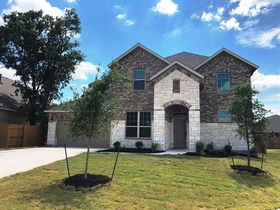 Leander Single Family Home For Sale: 1013 Hezekiah Ln