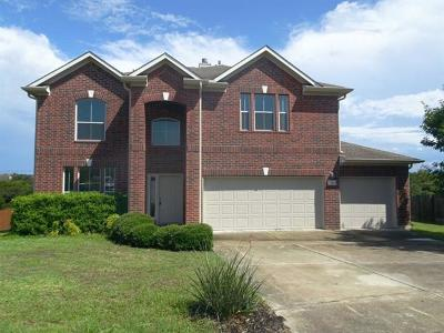 Cedar Park Single Family Home Pending - Taking Backups: 4508 Three Arrows Ct