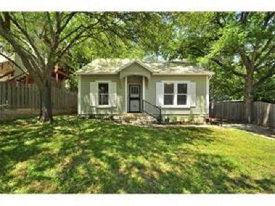 Austin TX Single Family Home For Sale: $599,000