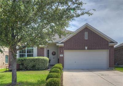 Round Rock Single Family Home For Sale: 608 Rusk Rd