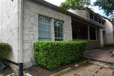 Travis County, Williamson County Condo/Townhouse For Sale: 3809 Spicewood Springs Rd #144