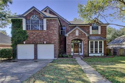 Pflugerville Single Family Home For Sale: 501 Hickory Ridge Trl