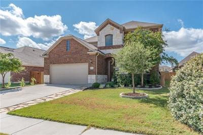 Leander Single Family Home Pending - Taking Backups: 1032 Tabernash Dr