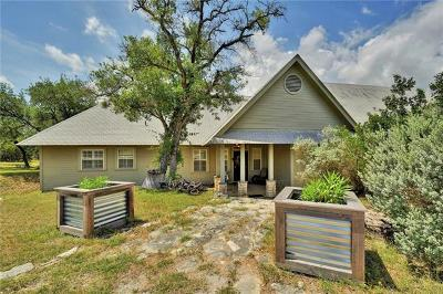 Lago Vista Single Family Home Pending - Taking Backups: 18313 Ridge Rd