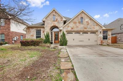 Cedar Park Single Family Home For Sale: 604 Pebblestone Walk Dr