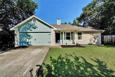 Cedar Park Single Family Home For Sale: 603 Bowling Ct