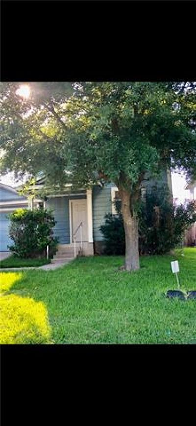 Manor Single Family Home Pending - Taking Backups: 17701 Powder Creek Dr
