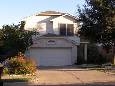 Leander Single Family Home For Sale: 1018 Moser River Dr