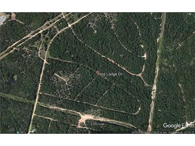 Residential Lots & Land For Sale: 107 Pine Lodge Dr
